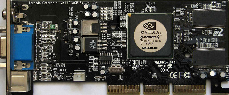 nvidia GeForce4