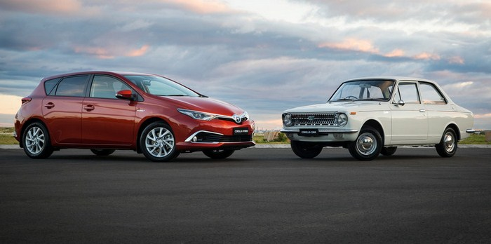 corolla 50 years review