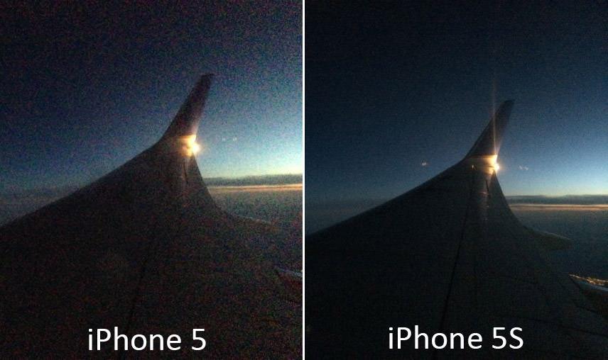 مقایسه دوربین آیفون 5 و 5S در شرایط نور کم