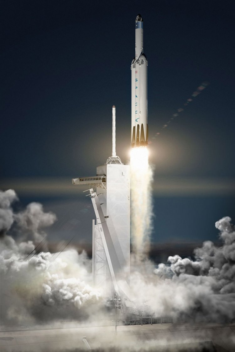 موشک Falcon Heavy