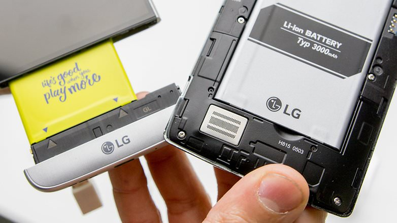 removable battery in lg g5
