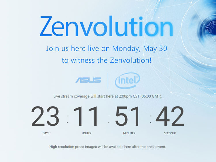 asus 30 may event