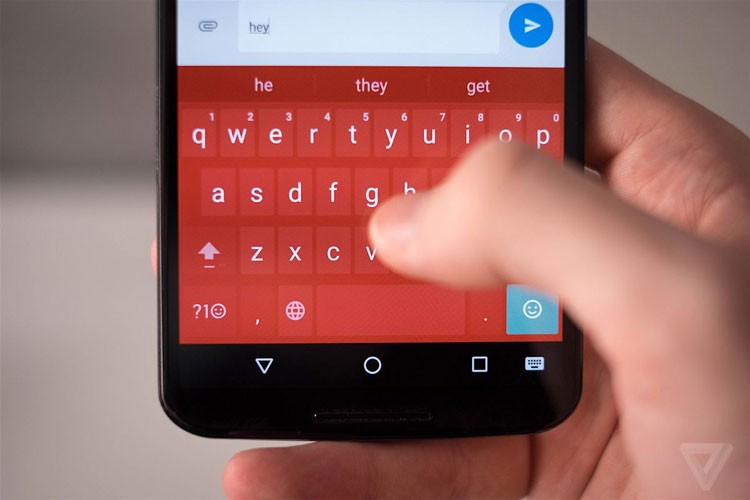 google keyboard on android n
