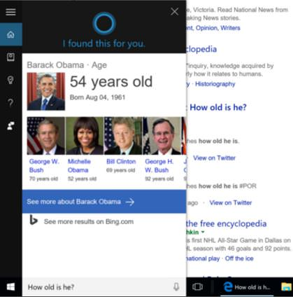 Make Cortana personal, and contextual