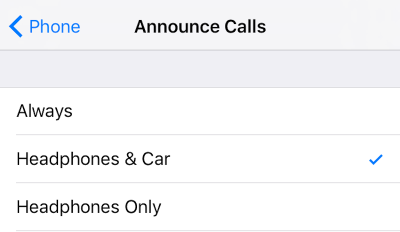 Siri Can Announce Who's Calling