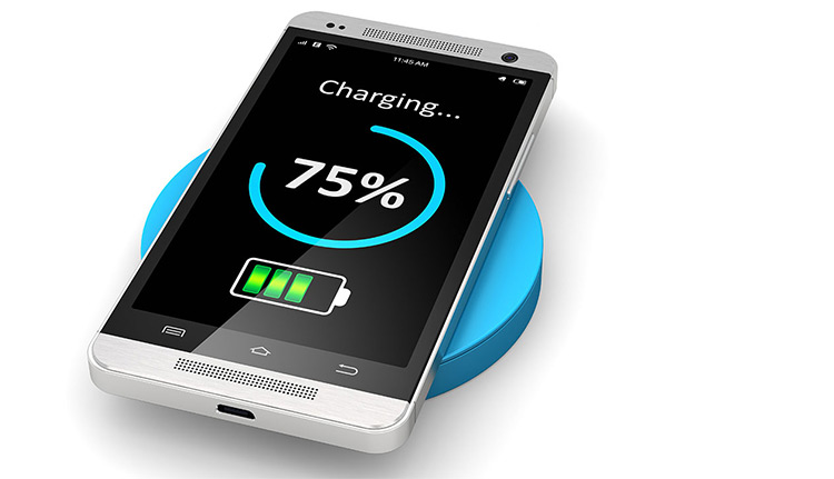 75 percent charged