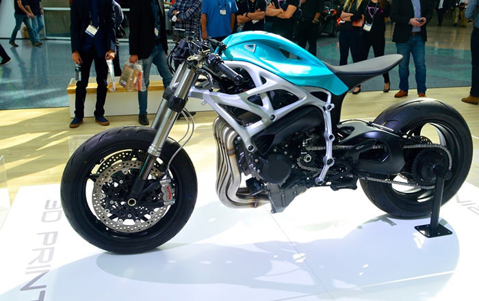 Airbus and Divergent's 3D printed motorcycles