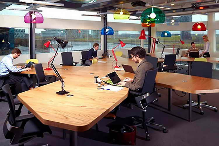 DO: keep movement and wellness in mind when outfitting your office