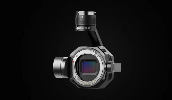 دوربین DJI Zenmuse X7