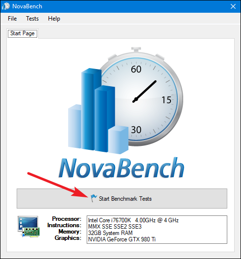 novabench benchmark