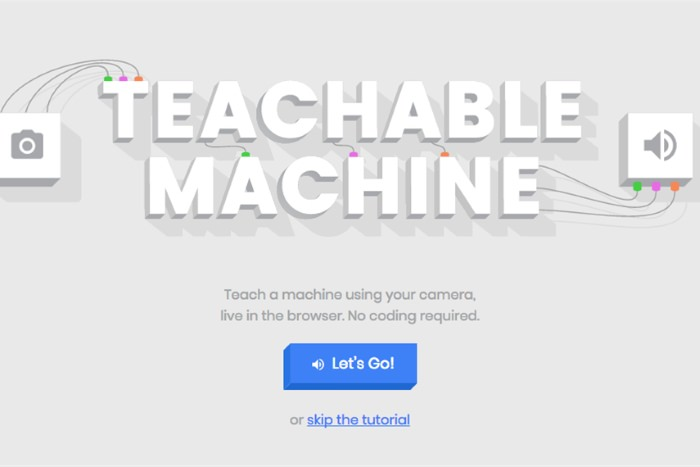 ماشین تعلیم پذیر / Teachable Machine