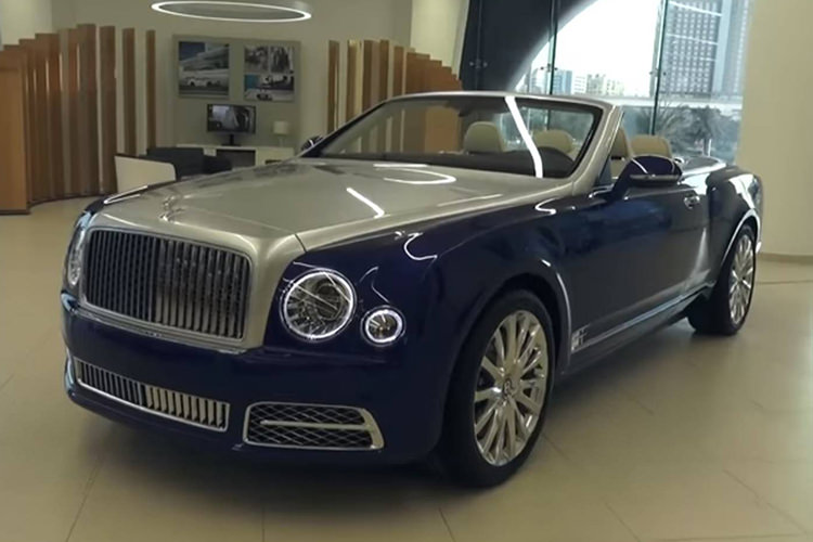 بنتلی گرند کانورتیبل / Bentley Grand Convertible