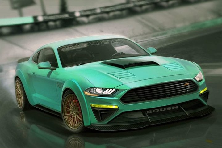 Mustang tuning Roush