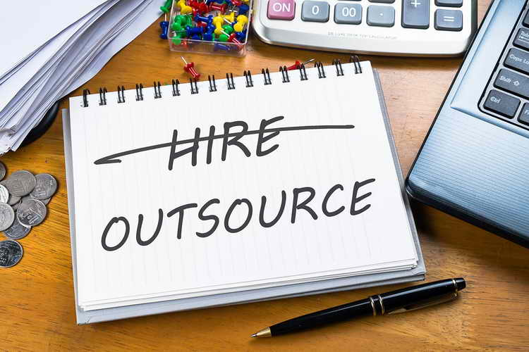 Outsource everything else
