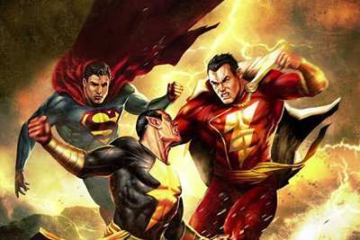 معرفی انیمیشن کوتاه Superman/Shazam!: The Return of Black Adam