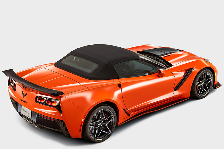 شورولت کوروت ZR1 روباز /  2018 Chevrolet Corvette Convertible