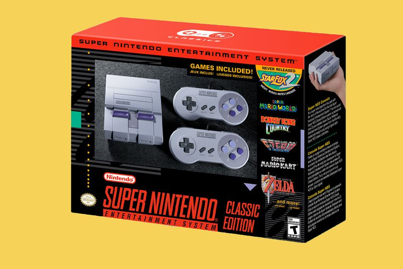 Super Nintendo Entertainment System (SNES) Classic