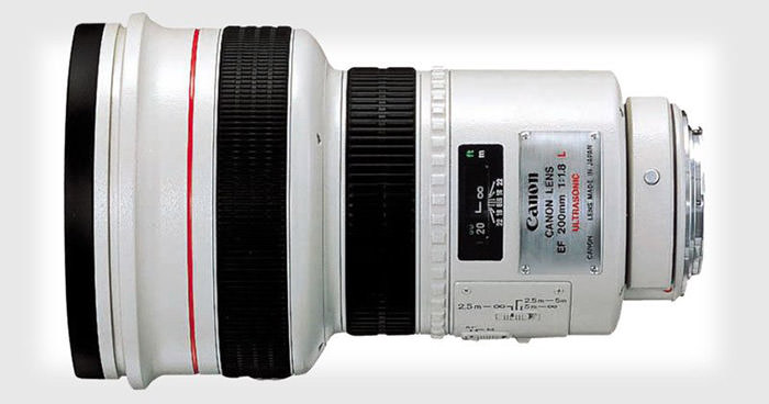 Canon 200mm f1.8 Lens / لنز کانن