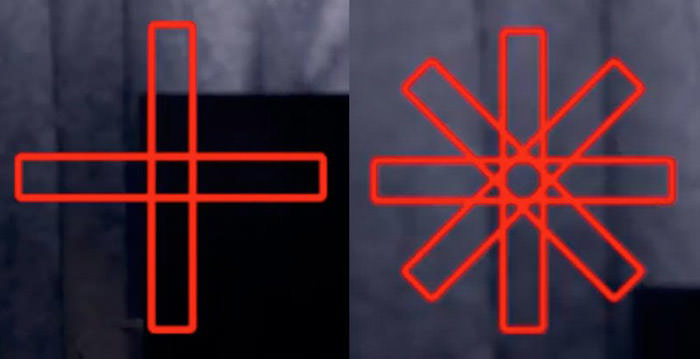 Cross-type and Dual Cross-type AF Points