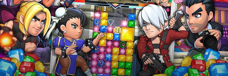 بازی Puzzle Fighter