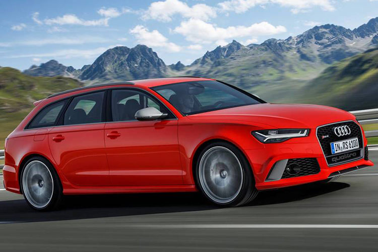 آئودی / Audi RS 6 Avant Performance