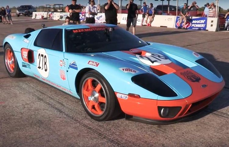 ford gt Tuning 470 kmph