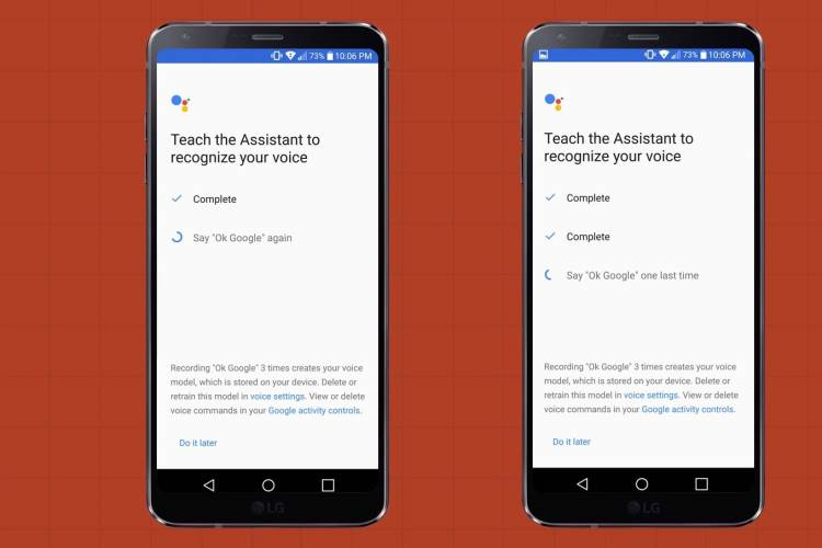 assistant for lg g6
