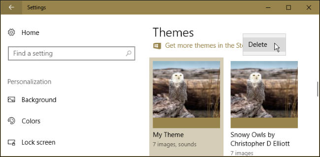 How to Remove an Installed Theme