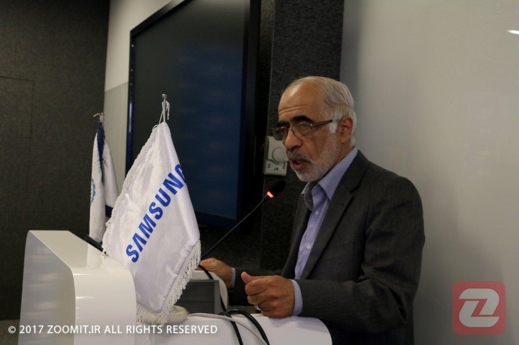 احمد معتمدی رئیس دانشگاه امیرکبیر