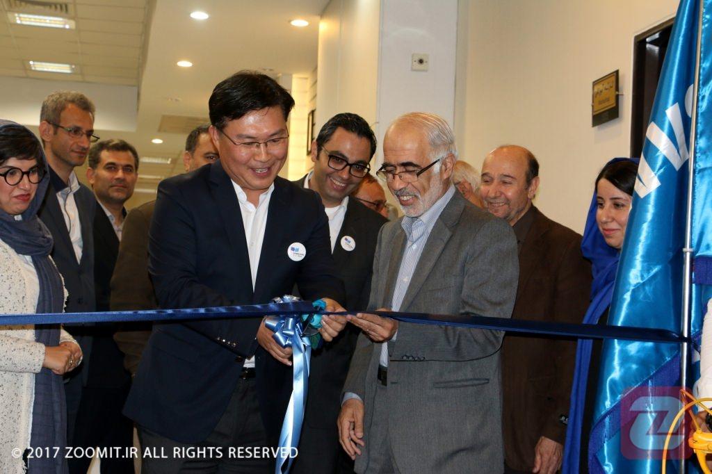 افتتاح مرکز فناوری سامسونگ-امیرکبیر