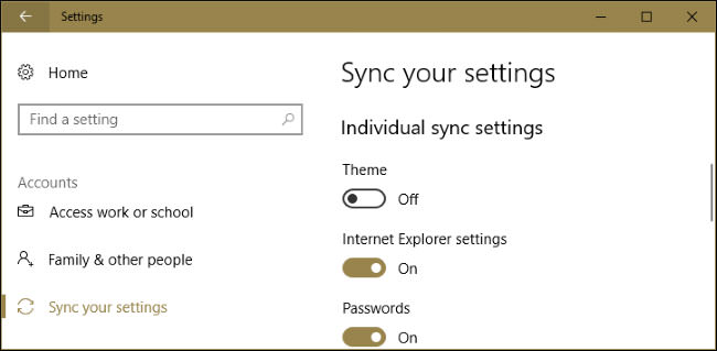 How to Choose Whether Your Theme Syncs