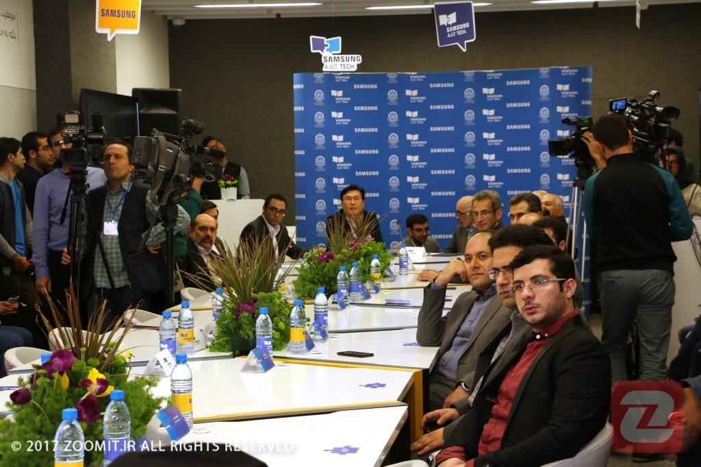 مراسم رونمایی از مرکز فناوری سامسونگ-امیرکبیر