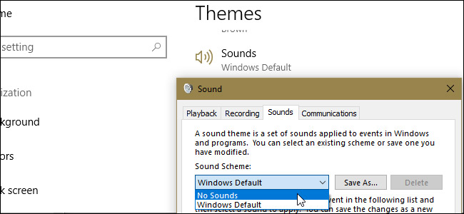 windows 10 sounds