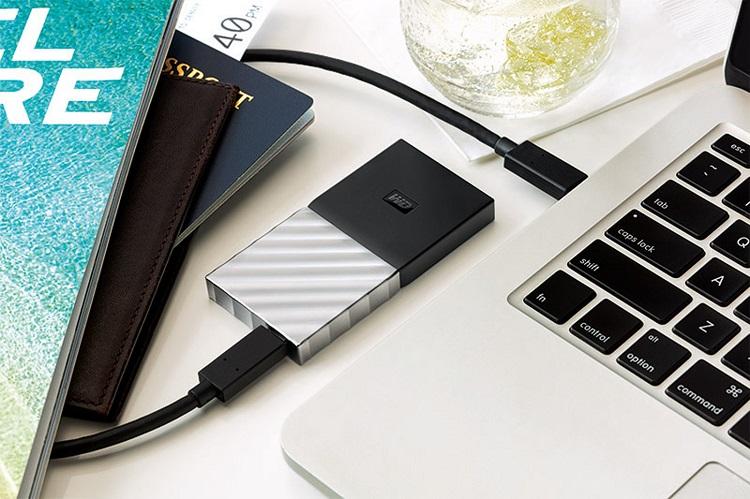 وسترن دیجیتال اولین SSD قابل حمل خود را معرفی کرد