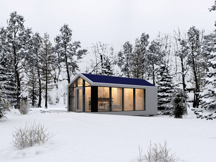 3D printed house- living in snow