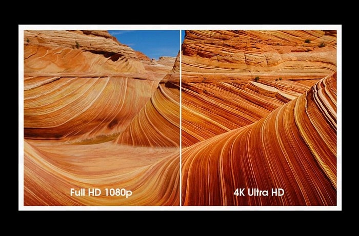 Full HD vs 4K