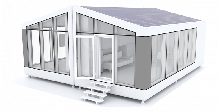 3D printed house- 3d view