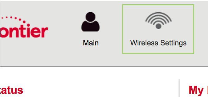 Click Wireless Settings