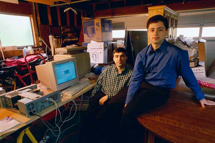 larry page at stanford
