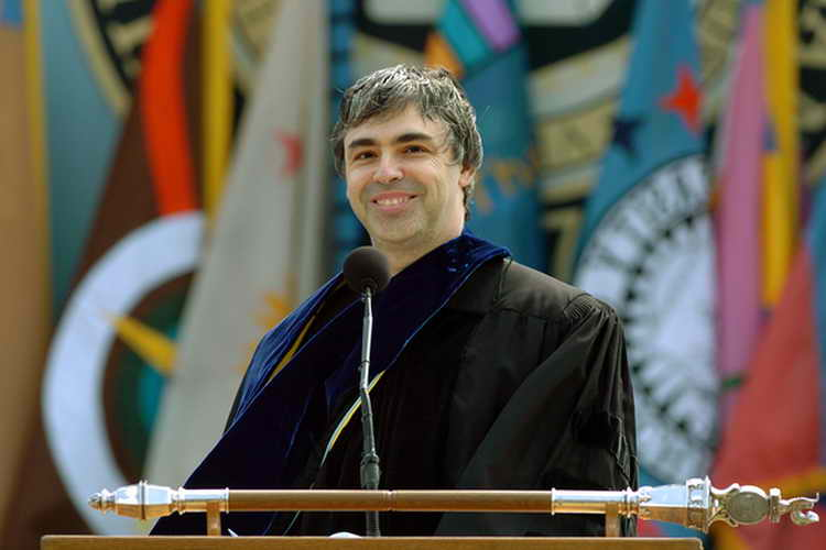 Larry Page, google growth