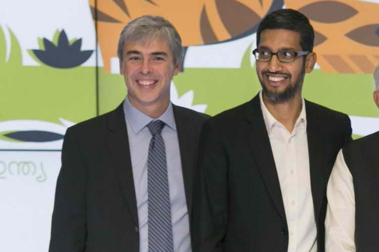 Page and Pichai