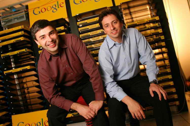Larry Page and Sergey Brin1