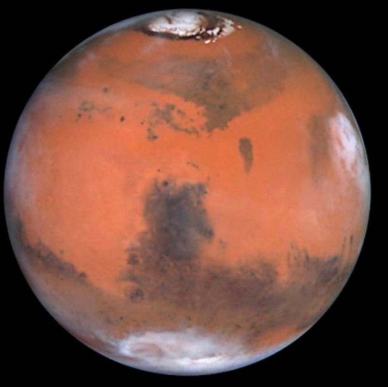 مریخ با تلسکوپ هابل