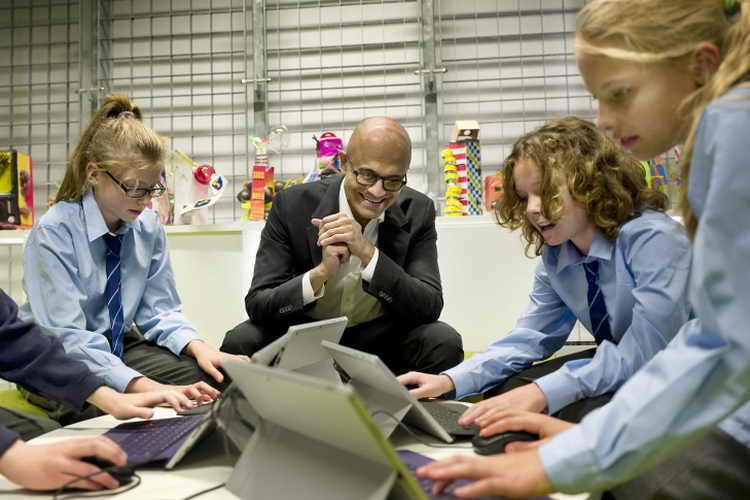 learning all the time nadella