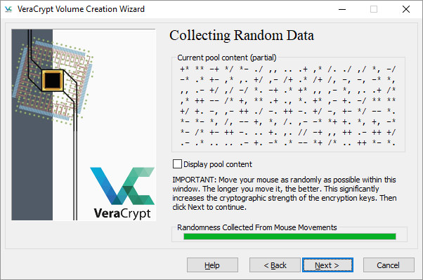 VeraCrypt-Randomness