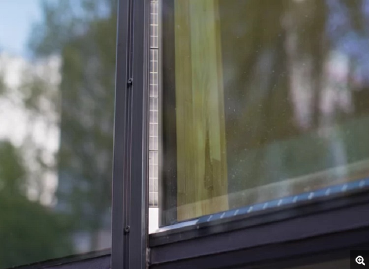 Transparent, Solar Power-Generating Windows
