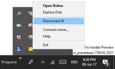 Rohos-Disconnect