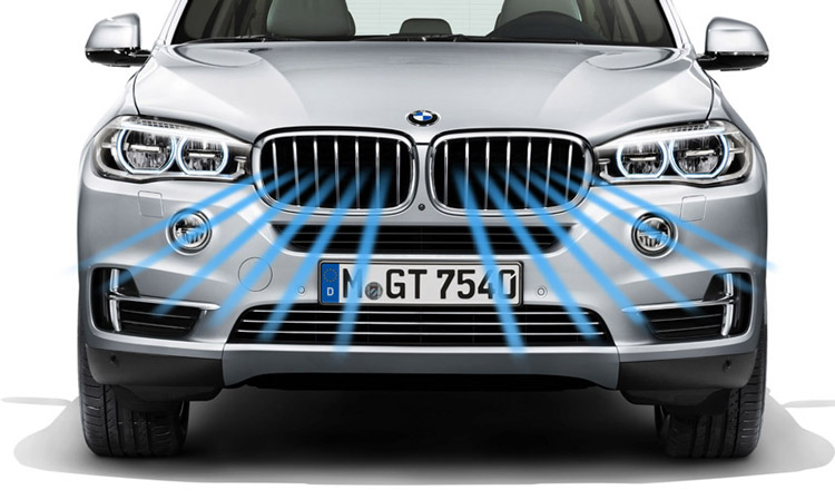 bmw-Active air stream kidney grille