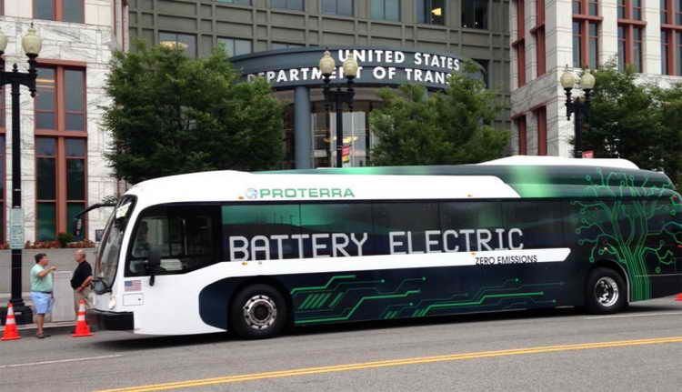 Proterra electric bus company
