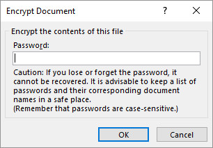 Word-Encrypt-Document